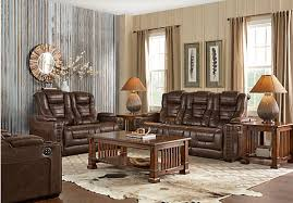 Find Living Room Furniture Picture Of Eric Church Highway To Home Chief Brown 5 Pc Living