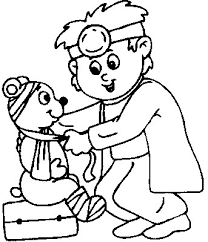 doctor kid coloring free doctor coloring pages coloring pages
