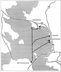 San Francisco Ferry Map by Regional Ferry Plan San Francisco Bay Area Final Report