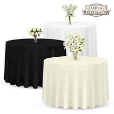 wedding table cloths wedding tablecloths ebay