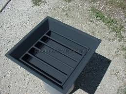 Fire Pit Insert Square by Fire Pit Pan Replacement Outdoor Goods
