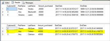 sql server compare tables sql server temporal tables vs change data capture vs change tracking