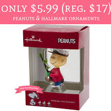 only 5 99 regular 17 peanuts and hallmark ornaments free