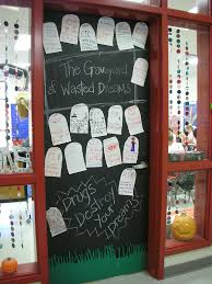 Red Ribbon Week Door Decorating Ideas Door Decorations For Red Ribbon Week The Graveyard Of Wast U2026 Flickr