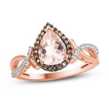 morganite engagement ring white gold morganite rings shop the best deals for dec 2017 overstock