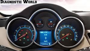 chevy cruze engine light chevrolet cruze mk1 dash warning lights