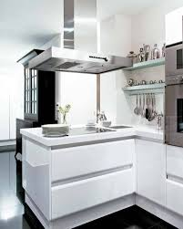 kitchen white storages hanging aluminum rack mounted oven