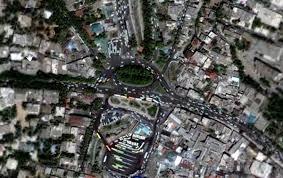 tehran satellite map earth map iran satellite images