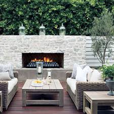 70 outdoor fireplace designs for men cool fire pit ideas