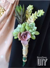 how to make corsages and boutonnieres diy wedding crafts boutonniere succulent corsage tutorial diy