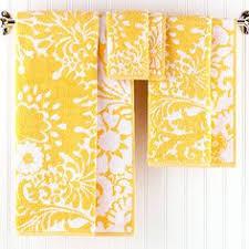 threshold floral bath rug yellow blue yellow gray bathroom