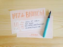brunch invites hello easy
