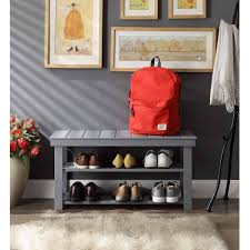 Mud Bench Convenience Concepts Oxford Utility Mudroom Bench Mutliple Colors