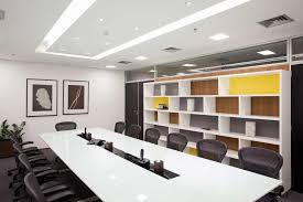 white decoration business conference room with 22 cozy office and