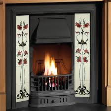 Cast Iron Fireplace Insert by Gallery Prince Cast Iron Tiled Fireplace Insert Flames Co Uk