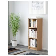 Tall Narrow Bookcase Oak by Billy Bookcase Oak Veneer 40x28x106 Cm Ikea