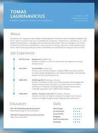 contemporary resume templates free resume exles templates 10 free modern resume templates ideas