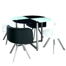 table ronde avec chaises table et chaise encastrable table de cuisine avec chaise encastrable