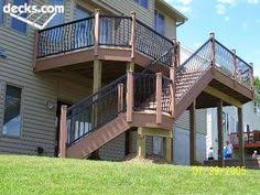 high elevation deck picture gallery home deck pinterest