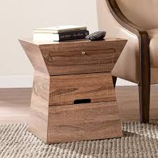Oak Accent Table Small Oak Accent Tables Bellacor