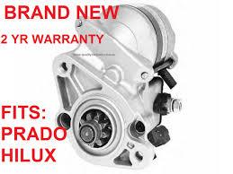 starter motor for toyota landcruiser prado u0026 hilux vzj95r 5vzfe