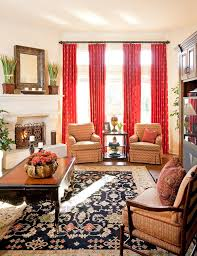 Living Room With Orange Sofa Living Room Burnt Orange Sofa Staggering Bright Curtain