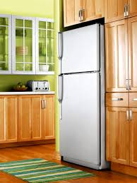 how to make your fridge look like a cabinet how to update your kitchen with stainless steel paint diy