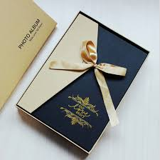 high end photo albums 2016 new high end ribbons box diy photo album creative gifts