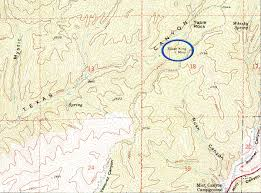 Coc Valencia Map Scvhistory Com Texas Canyon Silver King Mine 3 23 2013