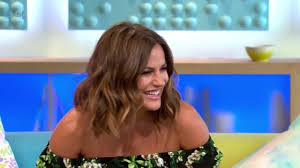 new hairstyle love island presenter caroline flack just got her dramatic new