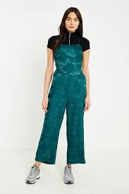 lace up jumpsuit uo jacquard lace up jumpsuit outfitters