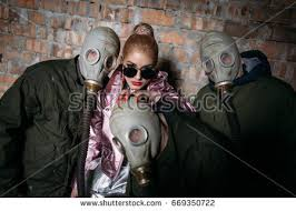 Halloween Costume Gas Mask Angel Mask Stock Images Royalty Free Images U0026 Vectors Shutterstock