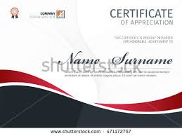 vector template certificate diploma stock vector 468854114