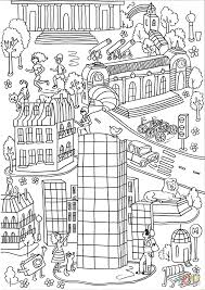 montparnasse tower coloring page free printable coloring pages