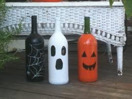 homemade home decorating ideas yard ghosts ring around tree outdoor halloween decorating ideas