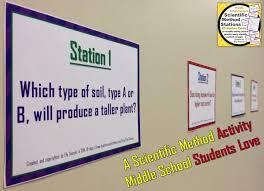 scientific method stations a versatile activity science
