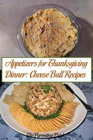 appetizers for thanksgiving dinner cheese recipes