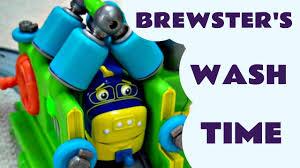 interactive chuggington brewster wash u0026 fuel kids toy review