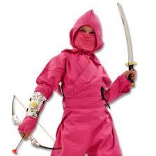 Ninja Halloween Costumes Girls Pink Ninja Warrior Costume Girls Ninja Princess Female