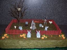 ghost in the graveyard cakes u2014 fitfru style halloween graveyard
