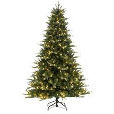 7 5 ft blue noble spruce artificial tree with 600 clear