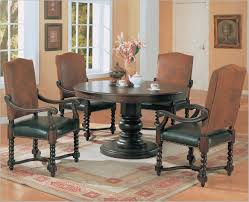 table round formal dining room tables craftsman compact the most