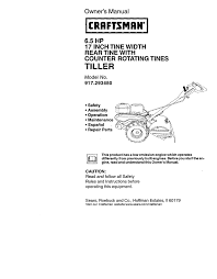 craftsman 917 293480 owner s manual
