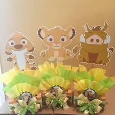 baby lion king baby shower baby lion king inspired centerpiece simba pumba nala timon