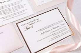 wedding invitations rose rose gold foil ivory gold and blush shimmer wedding invitation