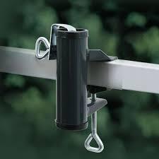 sonnenschirmhalter balkon sonnenschirmhalter balkon handlauf videx anthrazit