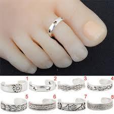 top finger rings images Foot beach feet jewelry girl silver toe rings adjustable lady jpg