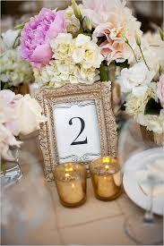gold table number frames wedding stationery blog top table design