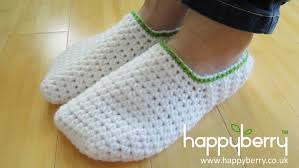 womens slipper boots size 11 crochet how to crochet simple slippers for or