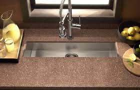Houzer Zero Radius Undermount Trough Bar  Prep Sink - Kitchen prep sinks